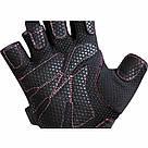 Перчатки для фитнеса женские RDX Pink S, фото 2