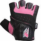 Перчатки для фитнеса женские RDX Pink S, фото 5