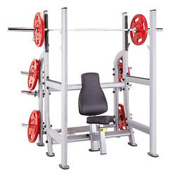Steelflex Plate Load Olympic Military Bench