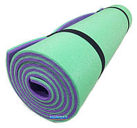"""Каремат для йоги 1800×600×8мм, """"Спорт"""", двухслойный"""
