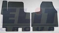 Передний резиновый коврик (на две стороны) на Рено Трафик 01-> — ELIT-KHD280375