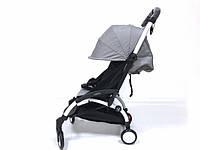 СУПЕР лёгкая и удобная детская прогулочная коляска YOYA 165 (обновлённая) b/Grey