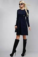 Женское платье с кнопками Lipar Синее 48