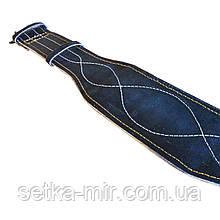 Пояс кожаный тяжелоатлетический 10 х 0,8 см кирза