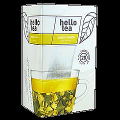Чай пакетированный Hello tea Ginger Lemon 20шт Имбирь - Лимон