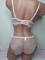 Комплект женского нижнего белья кружевной, фото 2
