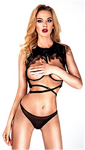 Еротична білизна Лакова жилет Жіночий рольової костюм Еротичний костюм