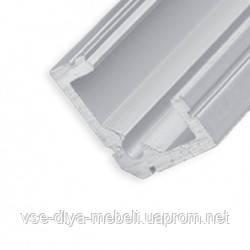 """Профиль """"LL-07"""" угловой L-2000мм для светодиодной ленты, алюминий(134700)"""