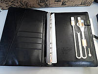 Блокнот ежедневник со встроенным с POWER BANK  16 gb флешка павербанк с беспроводной  и проводной зарядкой