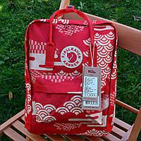 Рюкзак Fjarvallen Kanken Classiс red/white (реплика)