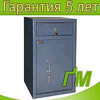 Сейф для депонирования RD.60.K.K с ящиком для скрытого вброса купюр (618х380х370мм), фото 1