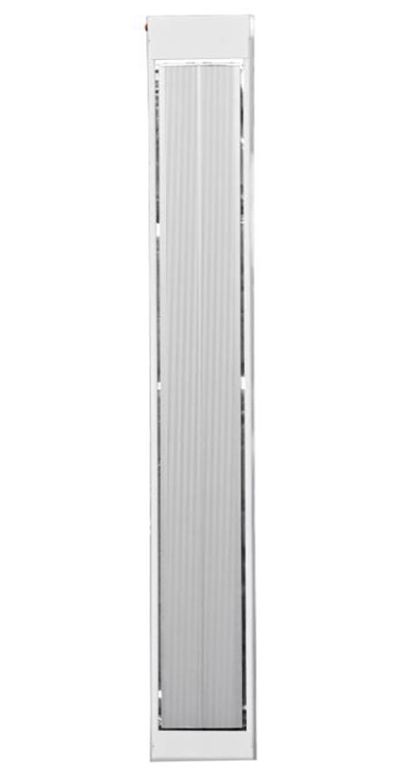 Обогреватель потолочный инфракрасный стальной с закрытым тэном УКРОП Б1250С