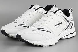 Кросівки чоловічі білі Bona 734А Бона Розміри 46