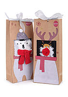 Новогодние носки подарочные (размер 35-39 в расцветках)