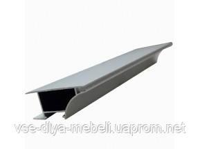 "Профиль ""LL-08-1""антиручка одинарная д/торца ДСП 18мм L-3000мм для свет ленты, алюм. (52330000)"