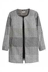 H&M+ Пальто                         H&M                         54                         Черный                         (0349472005)
