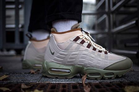 Мужские кроссовки Nike Air Max 95 Winter Olive ( Реплика ), фото 2