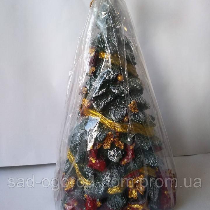 Свеча Ёлка с подарками