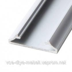 """Профиль """"LL-15"""" накладной широкий (23,5мм) L-2000мм для светодиодной ленты, алюминий (133400)"""