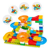 Развивающий конструктор Трек Лабиринт Tumama 52 детали Совместим с LEGO Duplo