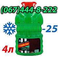 Незамерзайка для стеклоочистителя TOP Gear -25 4л (Дыня)