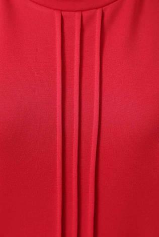 """Однотонний жіночий світшот """"Rimini"""" червоний, фото 2"""