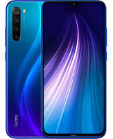 "Смартфон Xiaomi Redmi Note 8 Global 2021 4/64GB Blue, 48+8+2+2/13Мп, MediaTek Helio G85, 2sim, 6.39"" IPS"