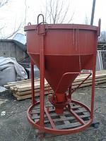 Бункер конусный БН-0.5 (куб.м) стенка 1 (мм)
