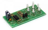 Радиоконструктор мерцающий светодиодный цветок K147