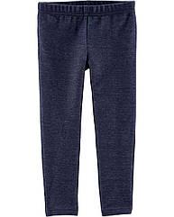 Тонкі сині лосинки для дівчинки Carter ' s 10л./136-142 см