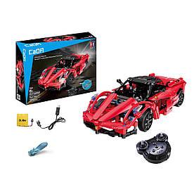 Конструктор на радиоуправлении CaDa Technic Ferrari 380 деталей (C51009W)