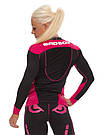 Рашгард женский с длинным рукавом Bad Boy Sphere Black/Pink XS, фото 3