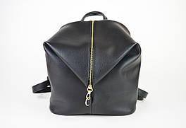 Сумка-Рюкзак кожаный черный Voila 18852155