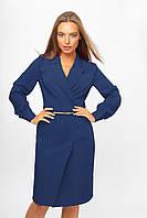 Женское платье-пиджак Lipar Синее