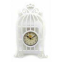 """Часы """" Птица в клетке"""" (40х20х4 см) ( 32832)"""