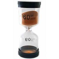 Часы песочные 60 мин оранжевый песок (13х5,5х5,5 см) ( 32073D)