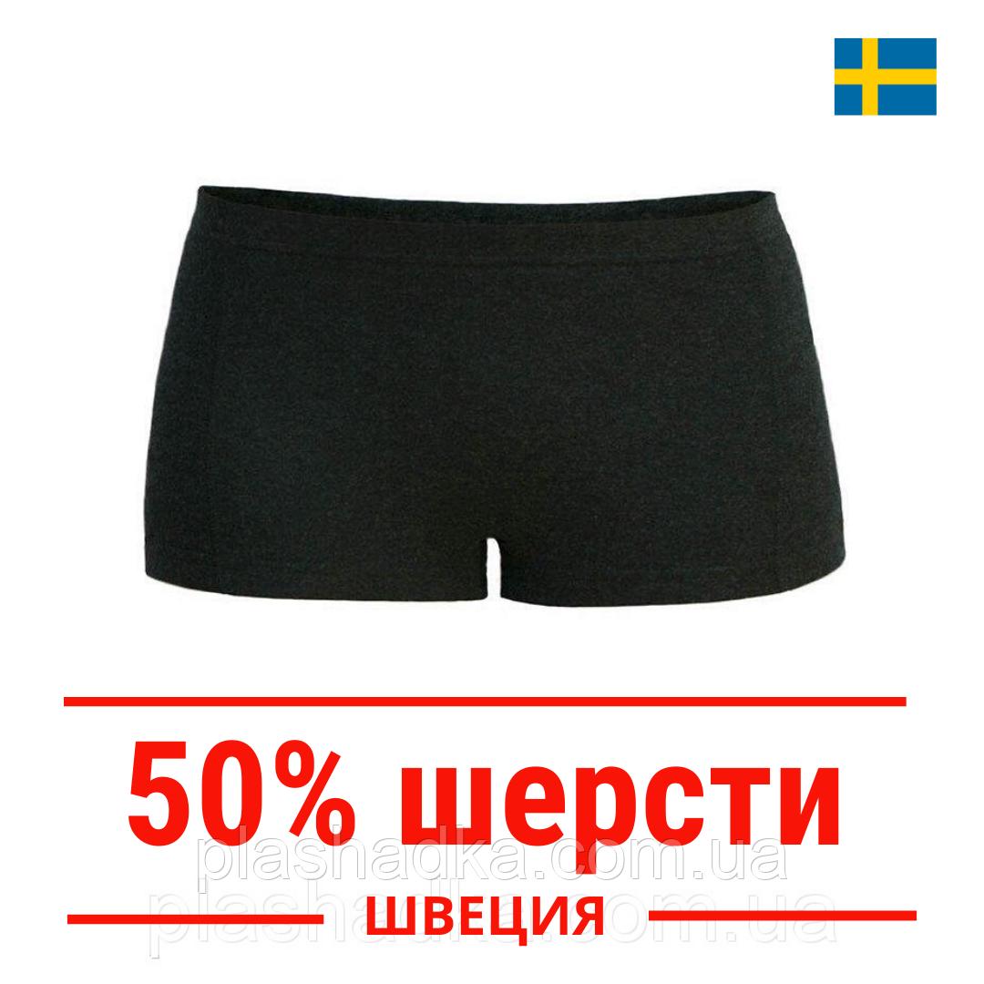 Термо трусы женские шерстяные зимние, термобелье из шерсти, Hetta (Швеция)