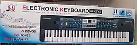 Детский синтезатор с записью, 61 клавиша, Блютуз, микрофон