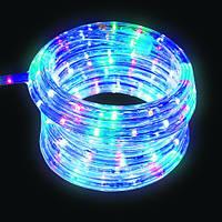 """Уличная Герметичная Светодиодная гирлянда Дюралайт """"Rope Light"""" 50 метров Мульти Цветной, 900 LED прозрачный с"""