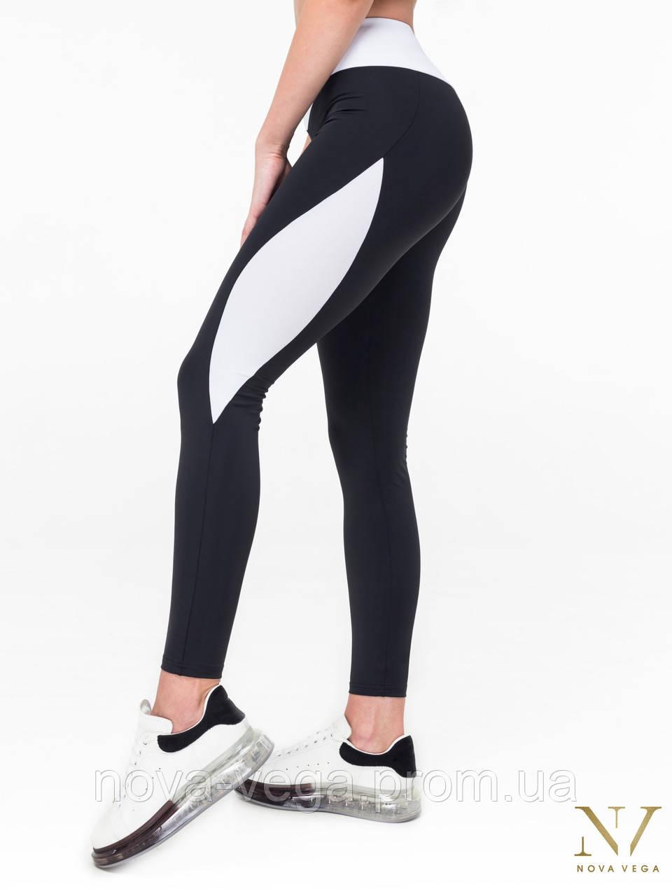 Спортивные Женские Лосины Nova Vega Victoria Black&White