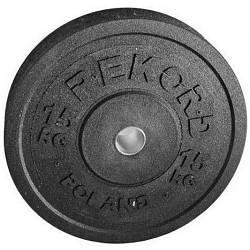 Бамперный диск Rekord 15 кг (BP-15)