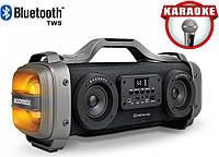 Портативная Bluetooth колонка Boombox Speaker 2.2 Cigii SH01/ 51W / 4 динамика / USB / SD/ FM, фото 1