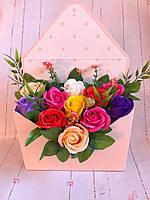 Цветочный букет из мыла  № 9