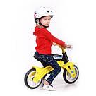 Беговел Real Baby KB7500 black-yellow, фото 6