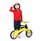 Беговел Real Baby KB7500 black-yellow, фото 7