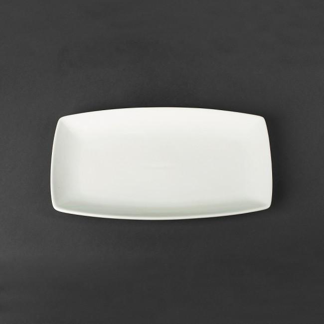 Блюдо фарфоровое прямоугольное  300*170мм