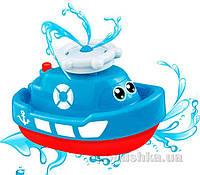 Кораблик-фонтан, игрушка для купания синий BeBeLino 58049-2