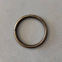 Кольцо литое сварное 36 мм антик