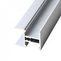 """Профиль """"LL-17"""" двухстор для торца полки ДСП 18мм L-3000мм для светодиодной ленты, алюминий (133600)"""