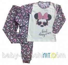 Пижама для девочек 140-146